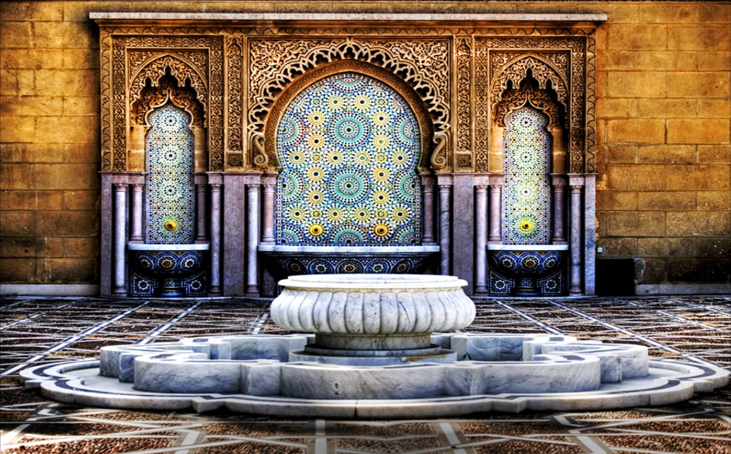 El reino plantae decorar un patio al estilo andalus for Decoracion estilo arabe