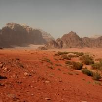 Un desierto en color rojo (Jordania)