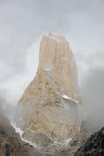 Una pared vertical de roca de 1340 metros (Pakistán)