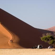 Un desierto de dunas gigantes (Namibia)