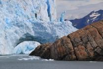 Un Glaciar que construye un dique (Argentina)