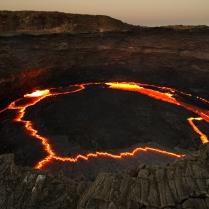 Un lago de Fuego (Etiopía)