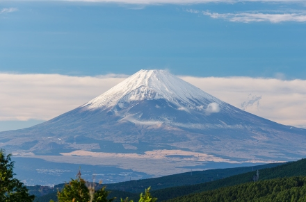 Mt Fuji from Jukkoku-Pass